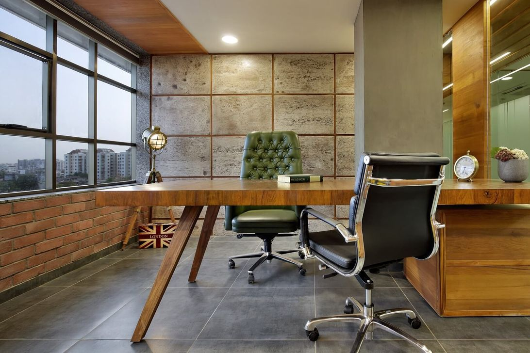 Gorgeous Rustic Office Decor Ideas 08