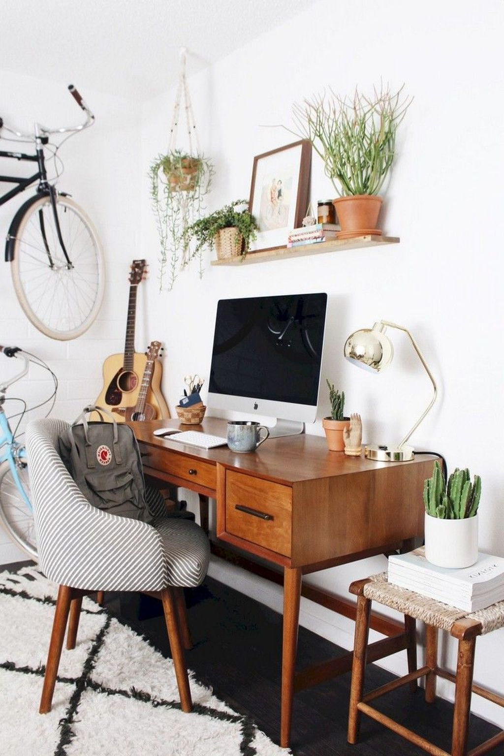Gorgeous Rustic Office Decor Ideas 29
