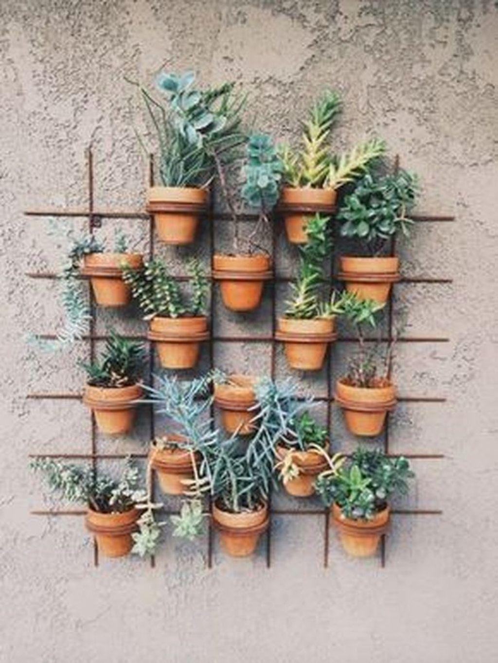 Gorgeous Vertical Garden Ideas Wall Decor 06