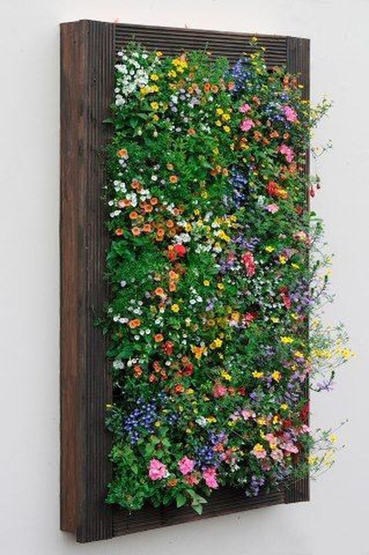 Gorgeous Vertical Garden Ideas Wall Decor 26