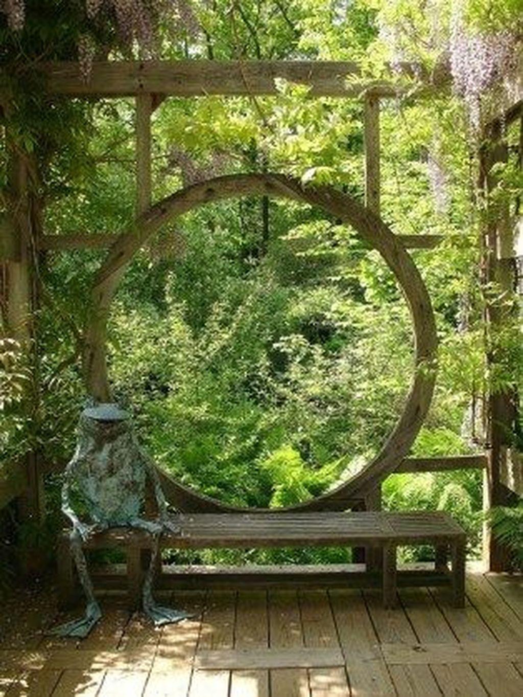Incredible Heavenly Moon Gate Design Ideas 25