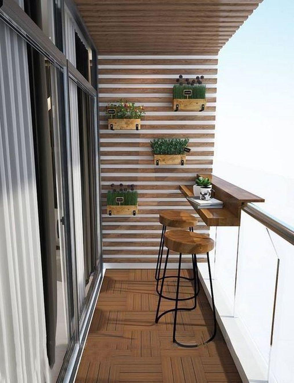 Incredible Patio Balcony Design Ideas 07