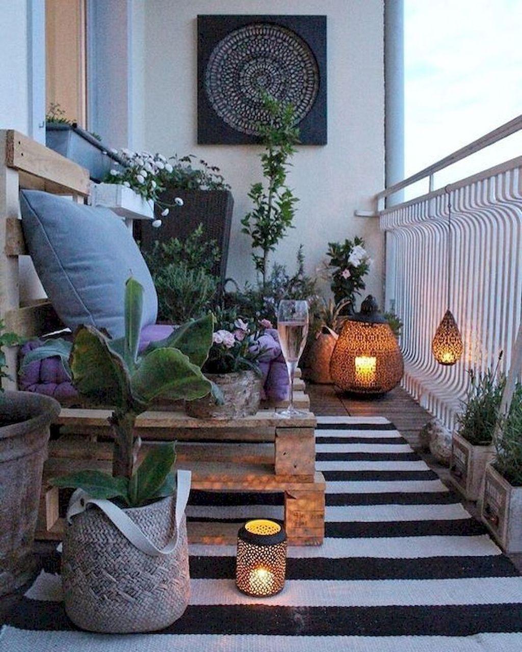 Incredible Patio Balcony Design Ideas 17