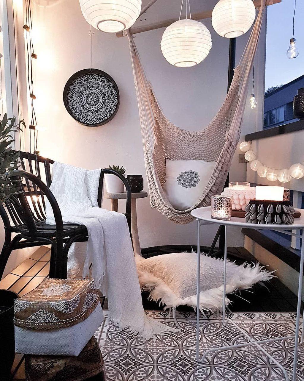 Incredible Patio Balcony Design Ideas 27
