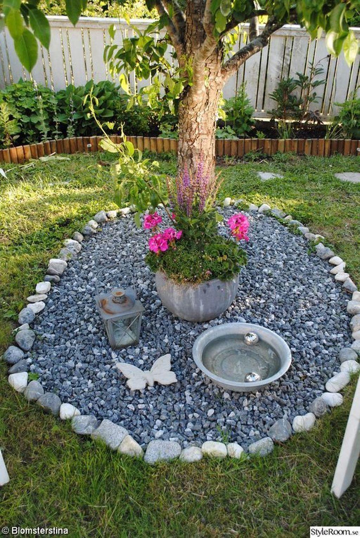 Inspiring Bird Bath Design Ideas For Front Yard 04