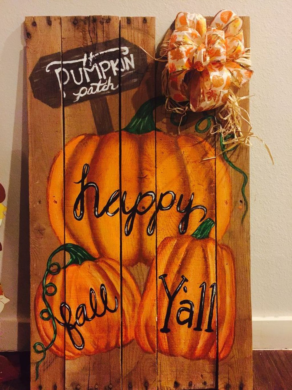 Inspiring Fall Pallet Signs Design Ideas For Your Home Decor 06