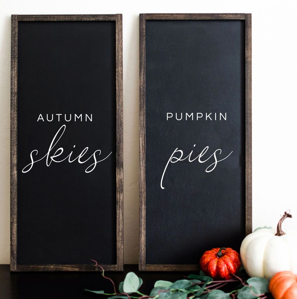 Inspiring Fall Pallet Signs Design Ideas For Your Home Decor 22