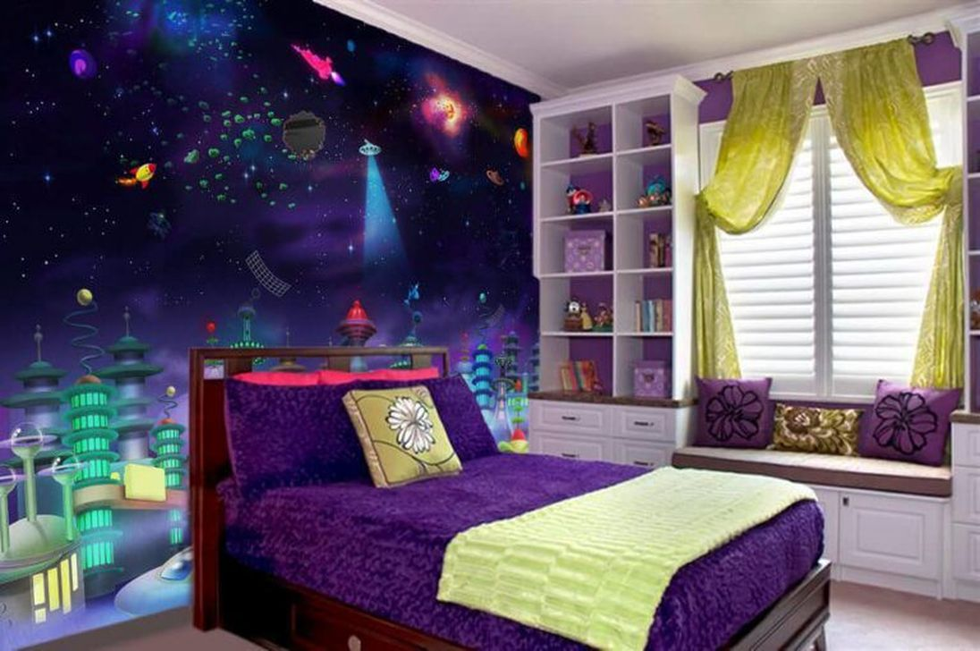 Inspiring Outer Space Bedroom Decor Ideas 08