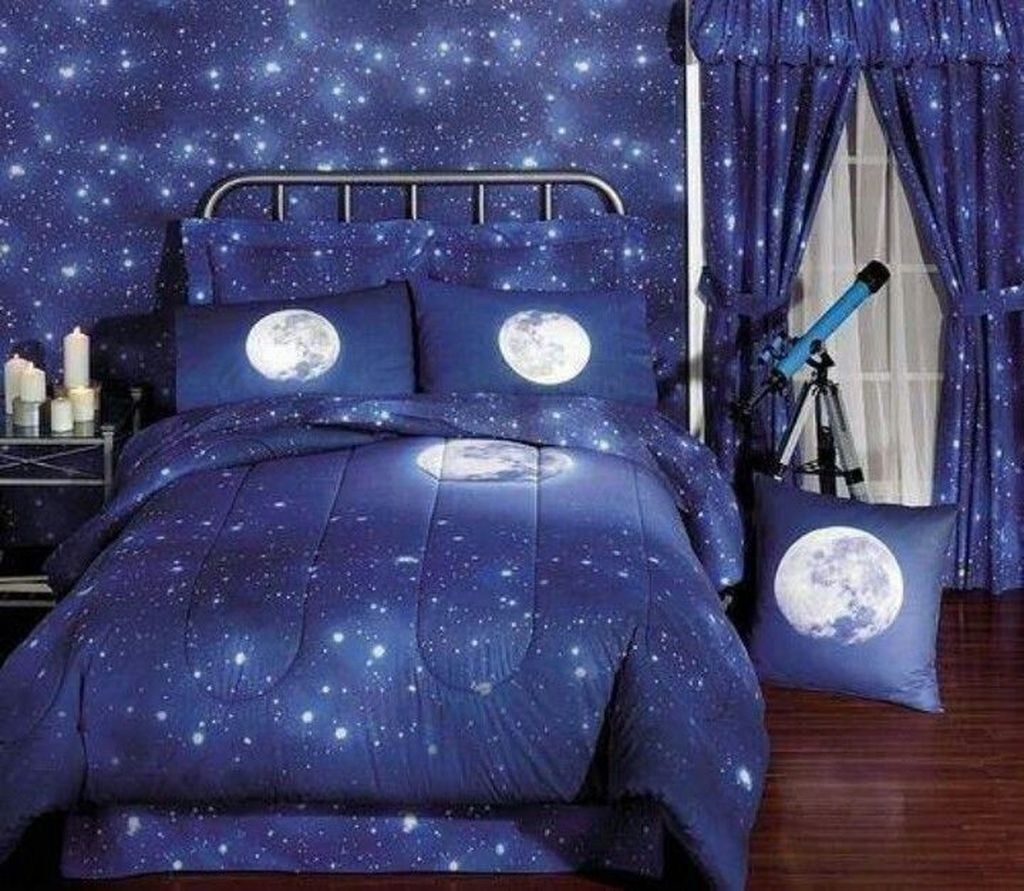 Inspiring Outer Space Bedroom Decor Ideas 21