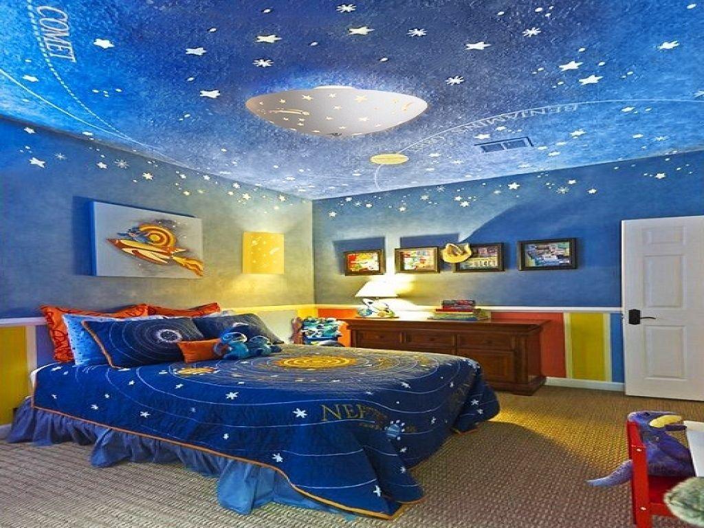 Inspiring Outer Space Bedroom Decor Ideas 25