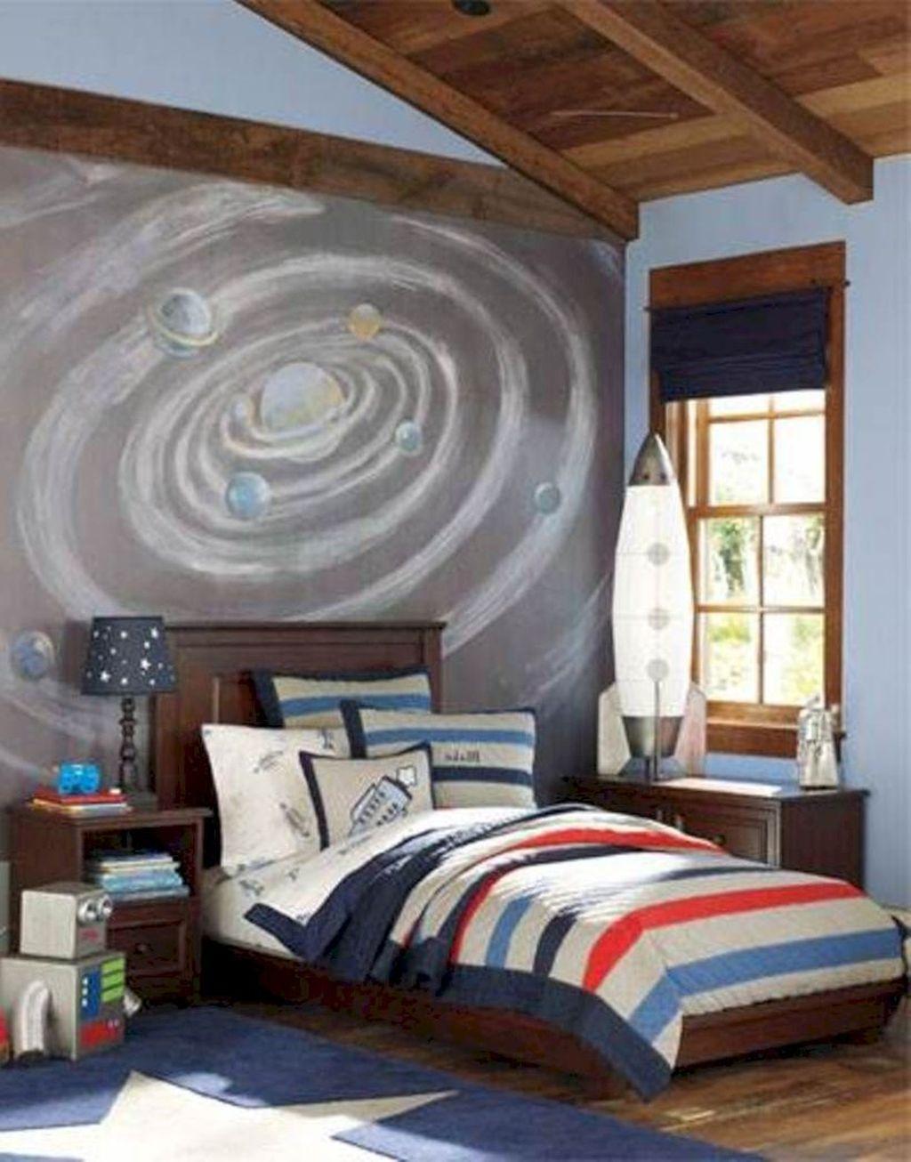 Inspiring Outer Space Bedroom Decor Ideas 34