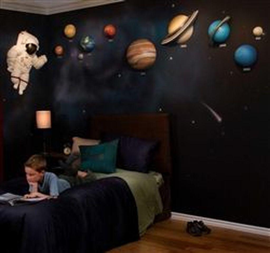 Inspiring Outer Space Bedroom Decor Ideas 36