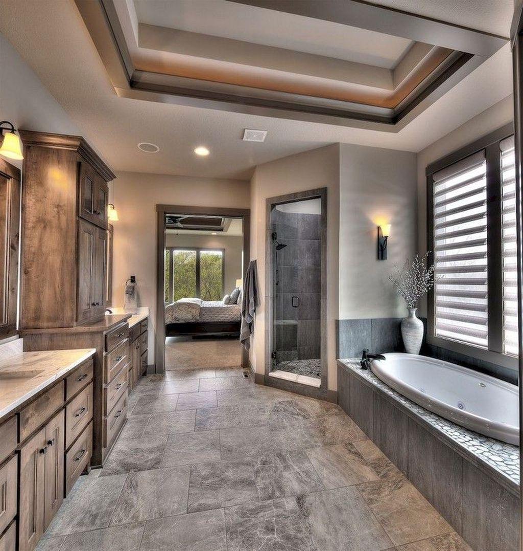 Inspiring Small Modern Farmhouse Bathroom Design Ideas 30