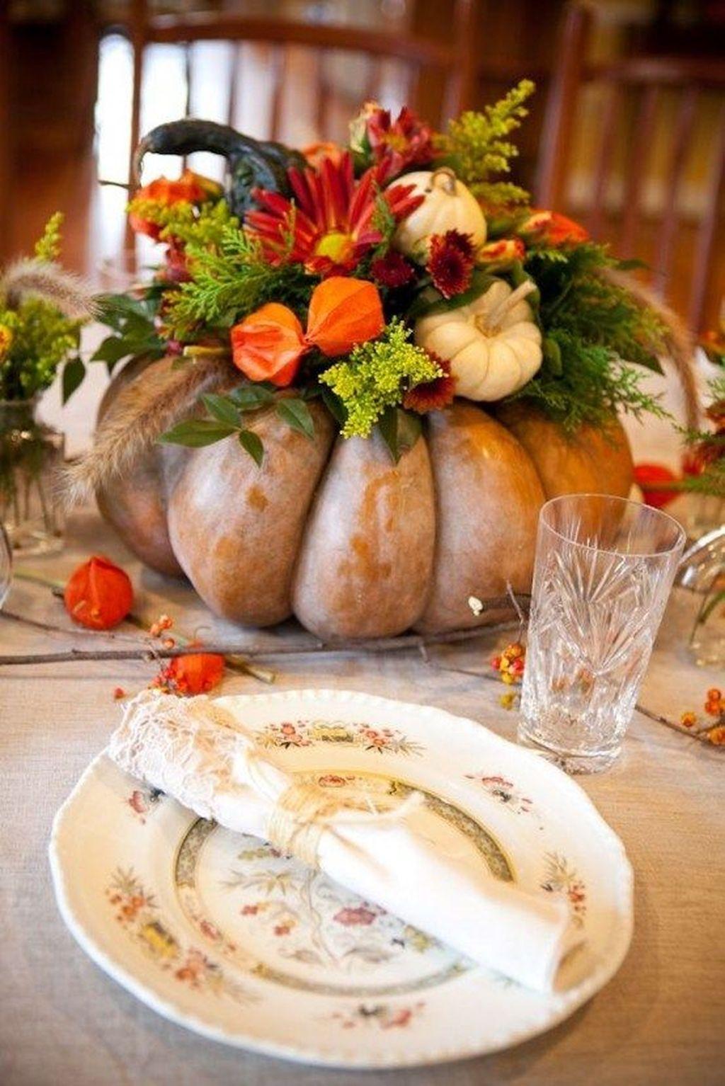 Lovely Fall Pumpkin Decor Ideas 12