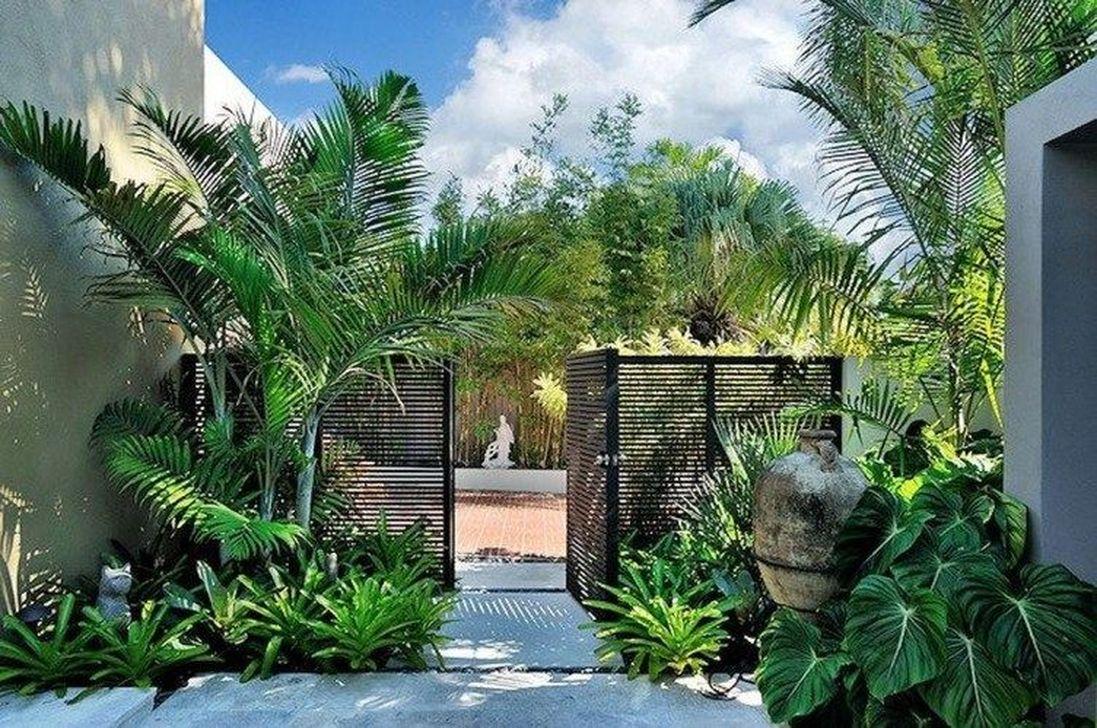 Lovely Tropical Garden Design Ideas 25