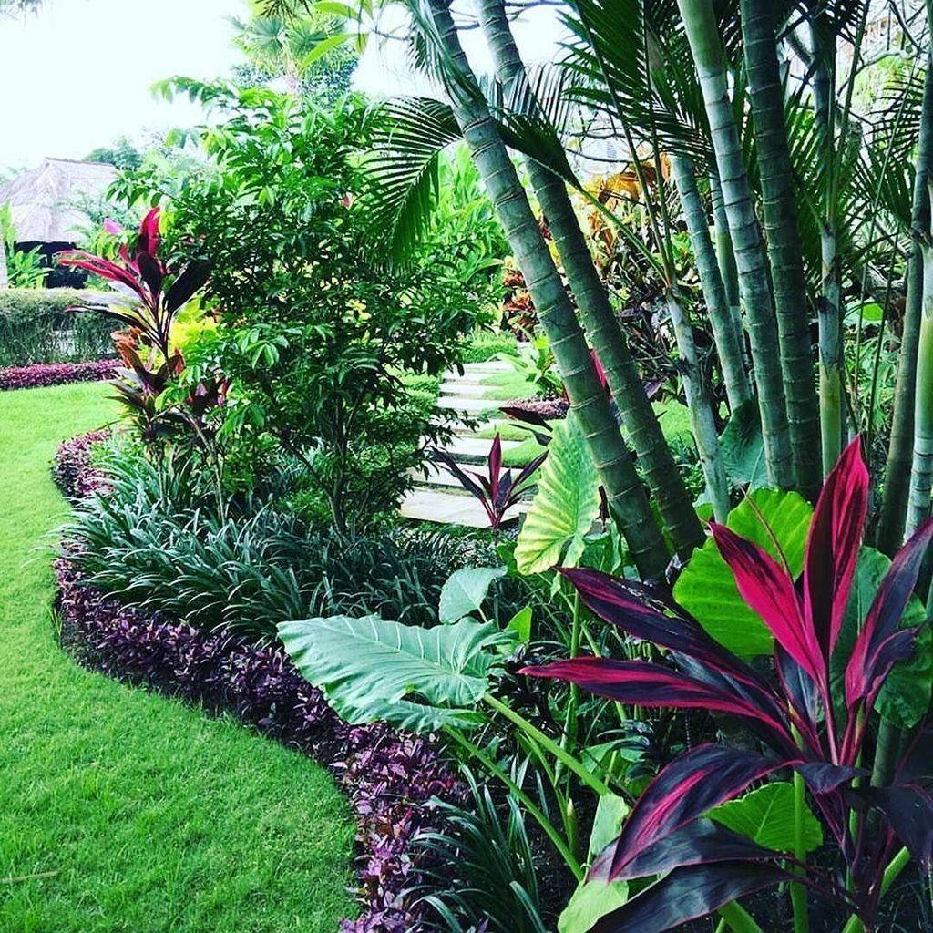 Lovely Tropical Garden Design Ideas 31
