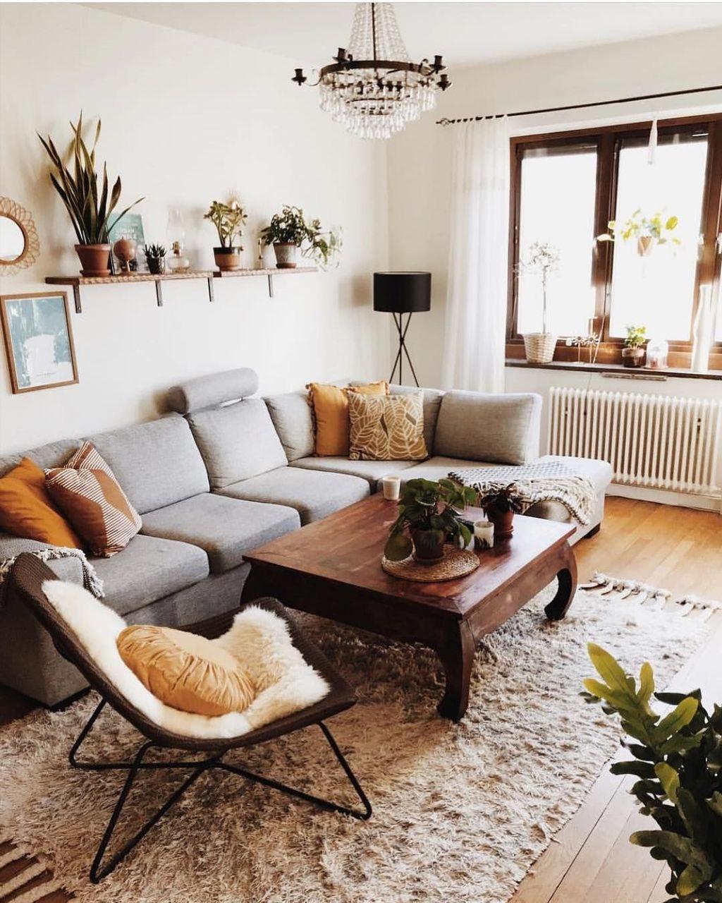 Nice Boho Farmhouse Design Ideas For Your Living Room Decoration 26