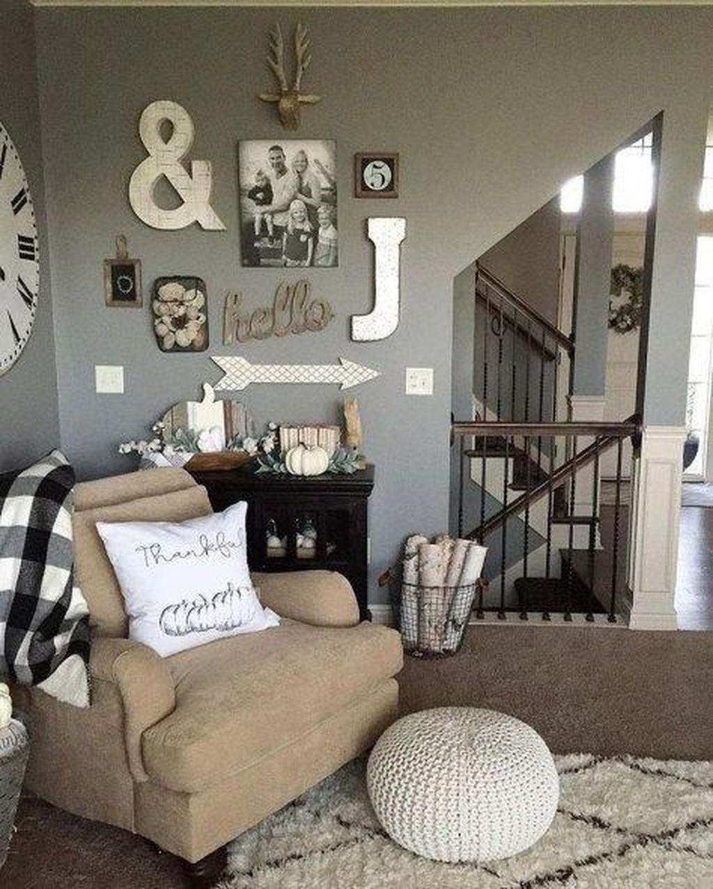 Nice Boho Farmhouse Design Ideas For Your Living Room Decoration 31