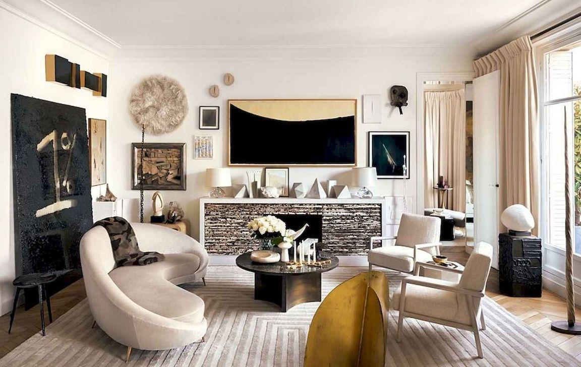 Nice Eclectic Parisian Home Decoration Ideas 24