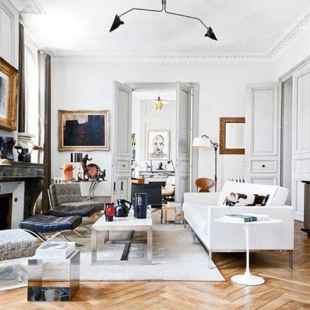 Nice Eclectic Parisian Home Decoration Ideas 27