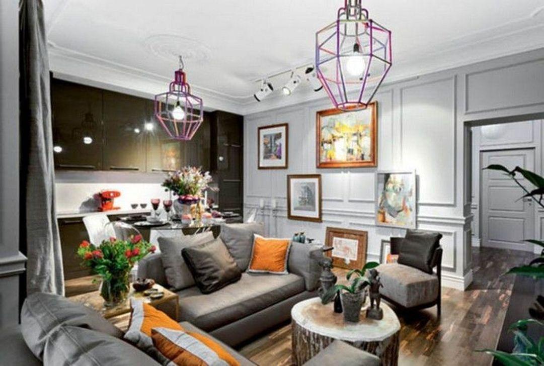 Nice Eclectic Parisian Home Decoration Ideas 31
