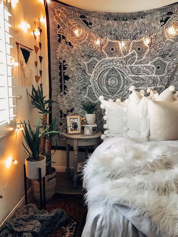 Nice Fall Bedroom Decor Ideas 12