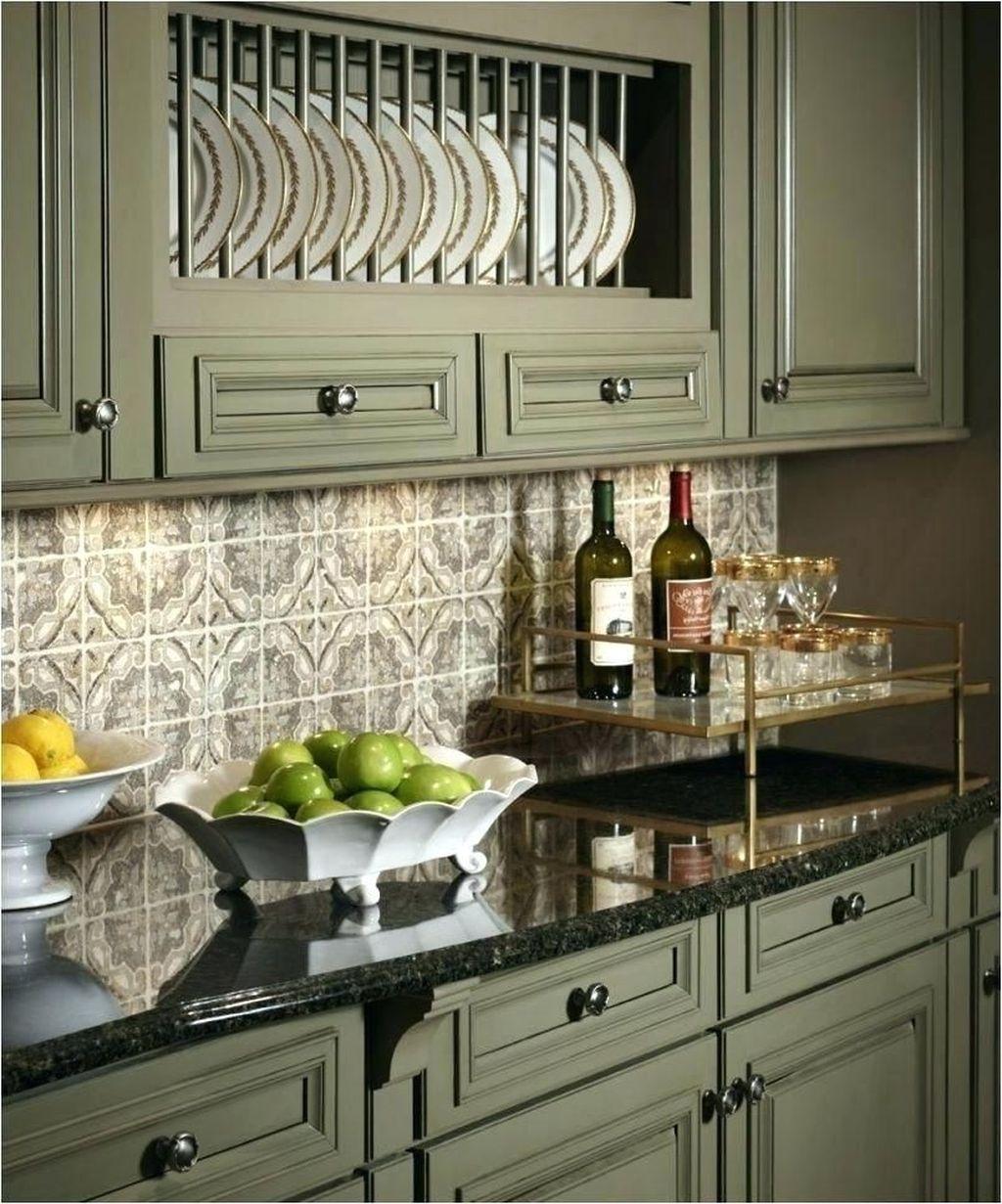Nice Sage Kitchen Cabinets Design Ideas 02