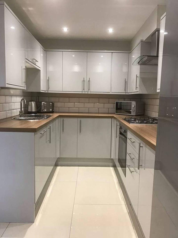 Nice Sage Kitchen Cabinets Design Ideas 21