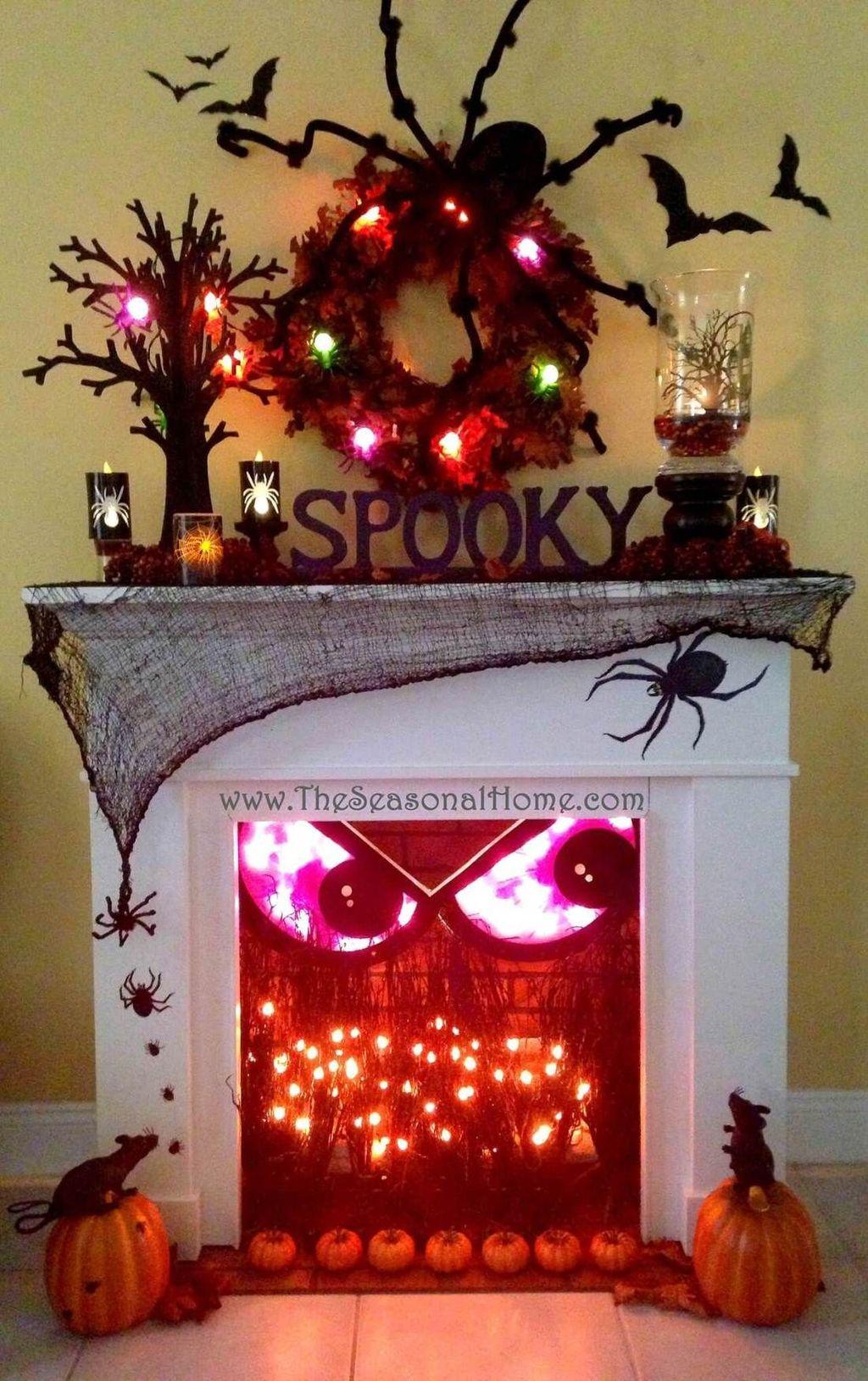 Nice Spooky Halloween Decoration Ideas 29