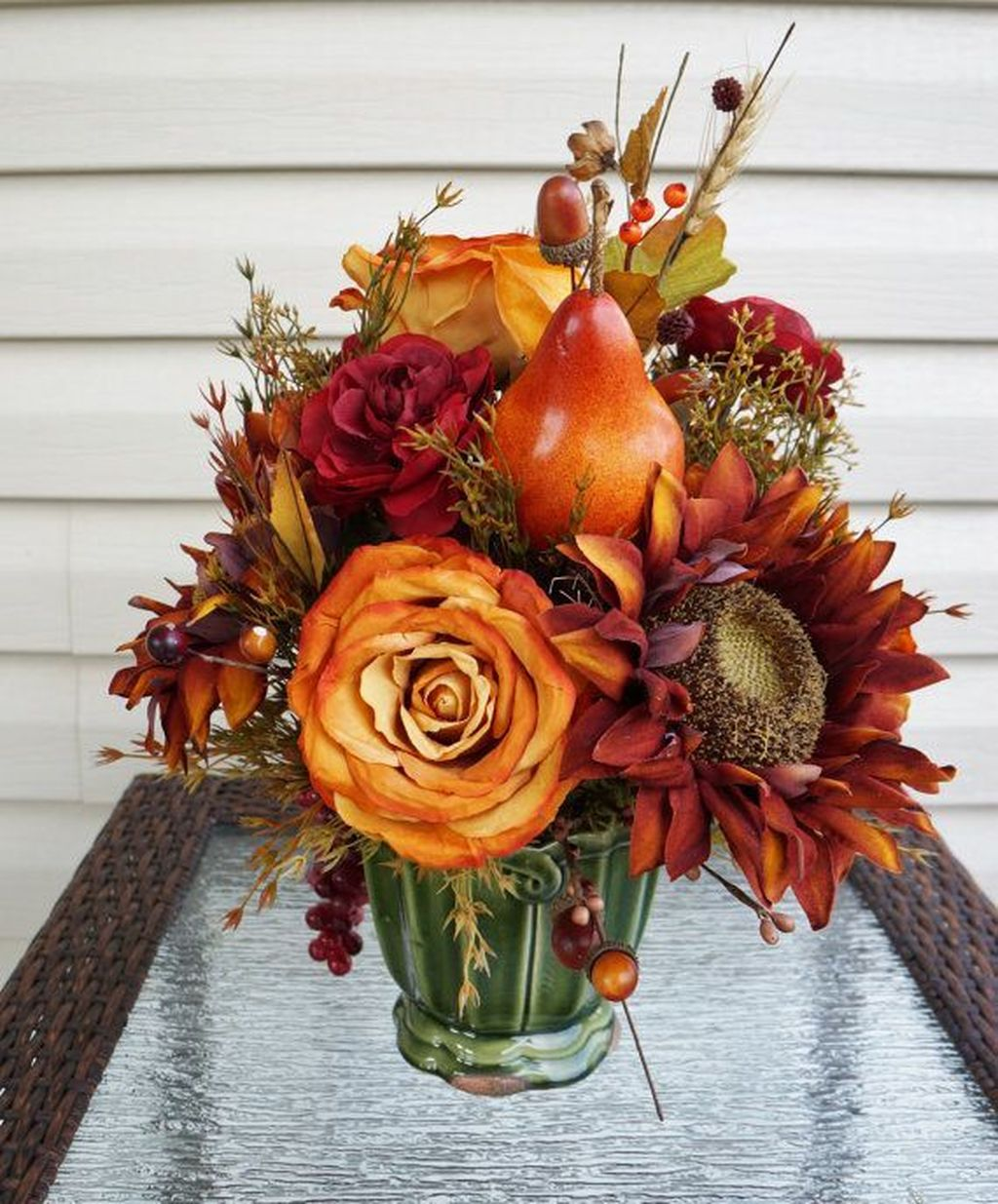 Nice Thanksgiving Flower Arrangements Design Ideas 07