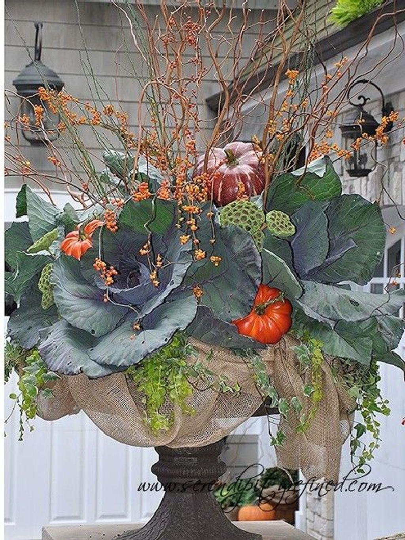 Nice Thanksgiving Flower Arrangements Design Ideas 10