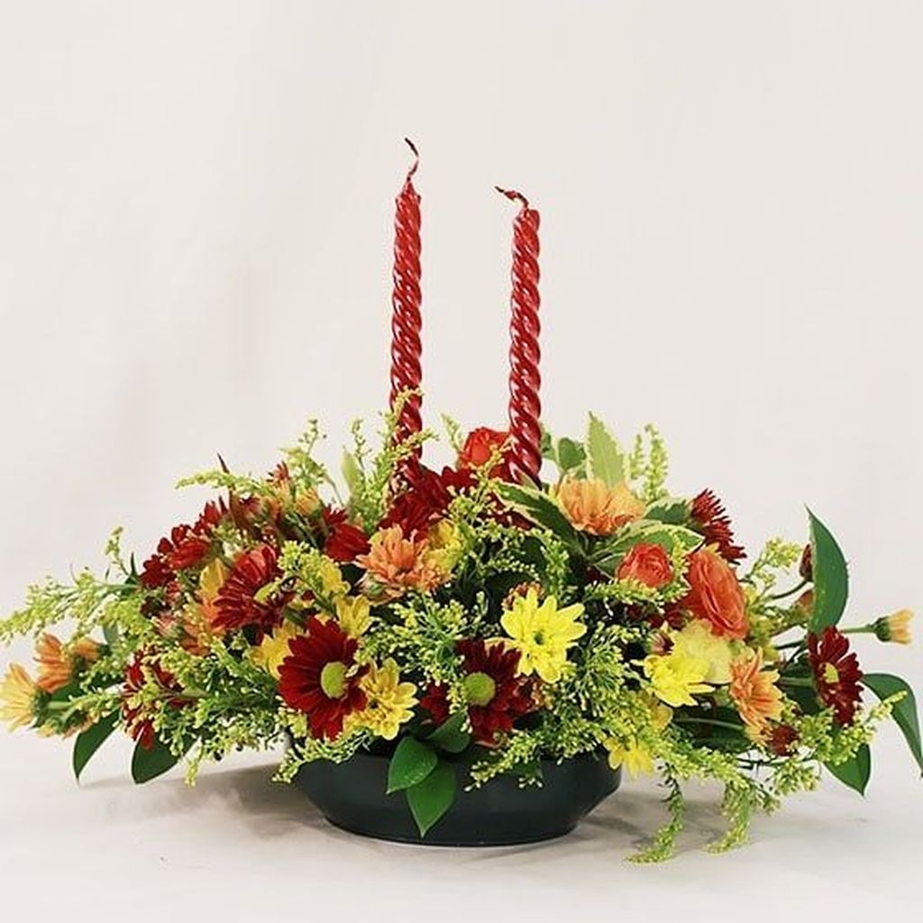 Nice Thanksgiving Flower Arrangements Design Ideas 35