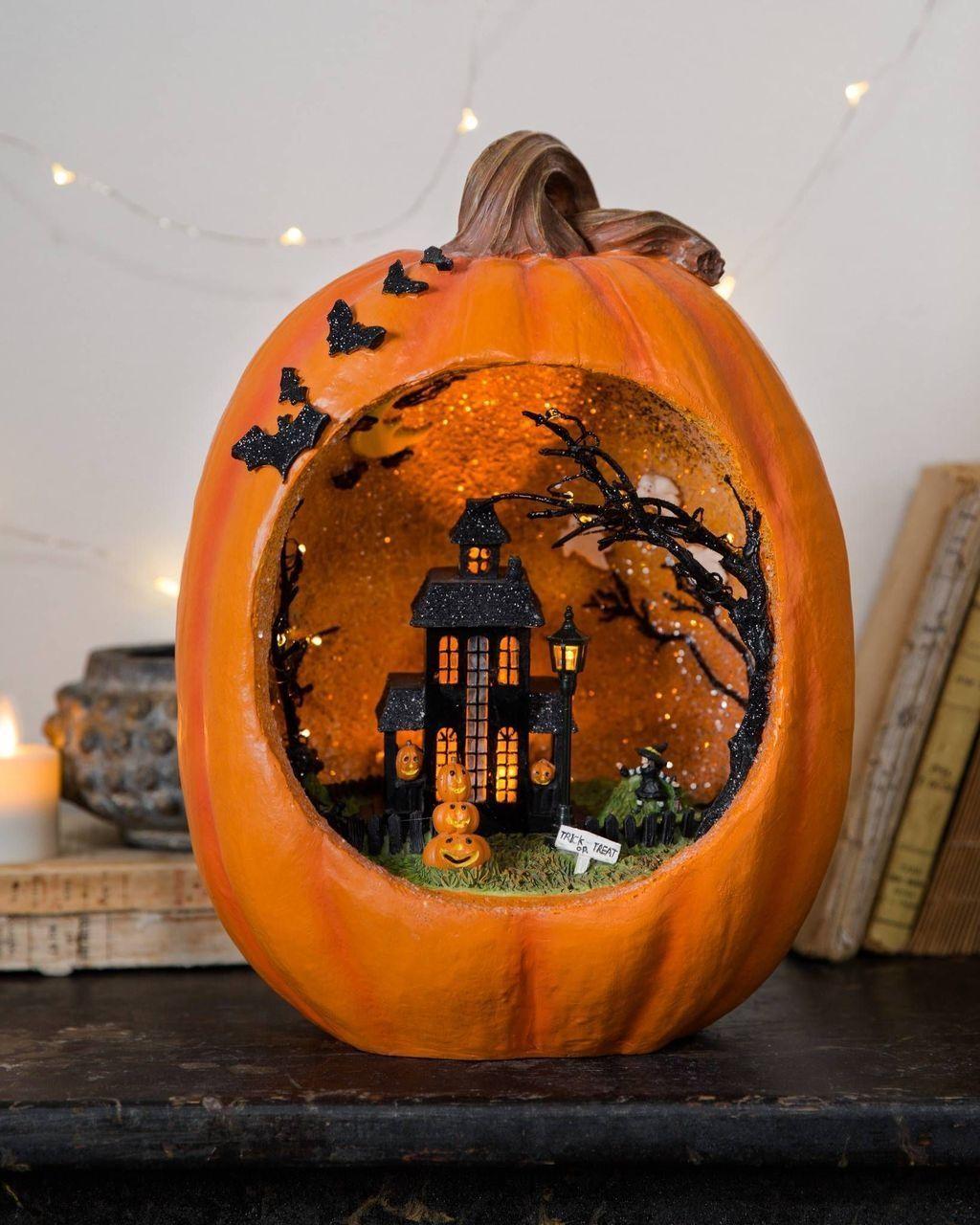 Popular Halloween Pumpkin Design Ideas 02