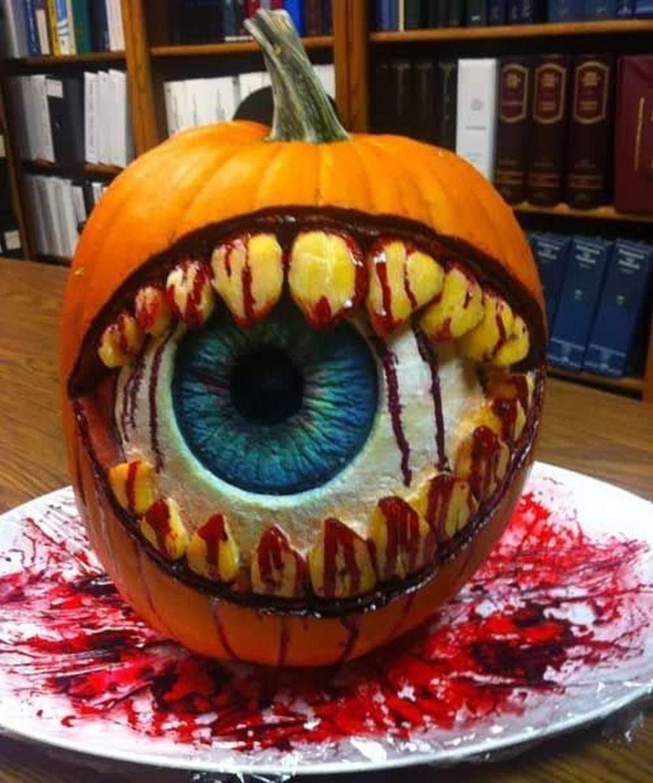 Popular Halloween Pumpkin Design Ideas 07