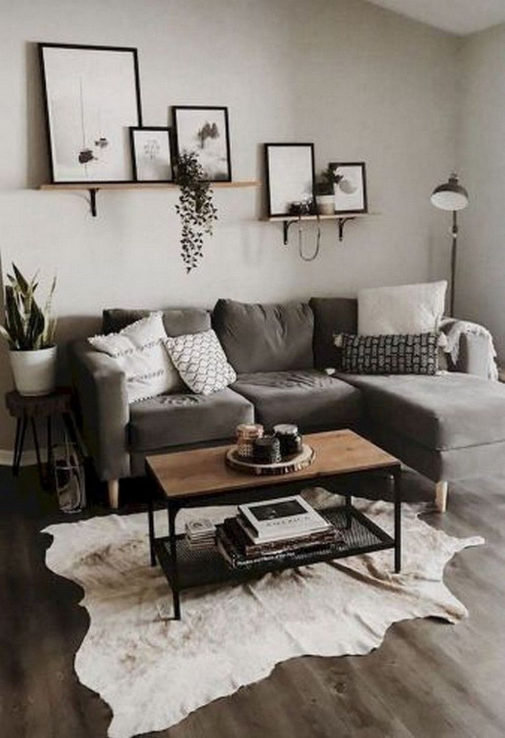 Stunning Farmhouse Living Room Decorating Ideas 09