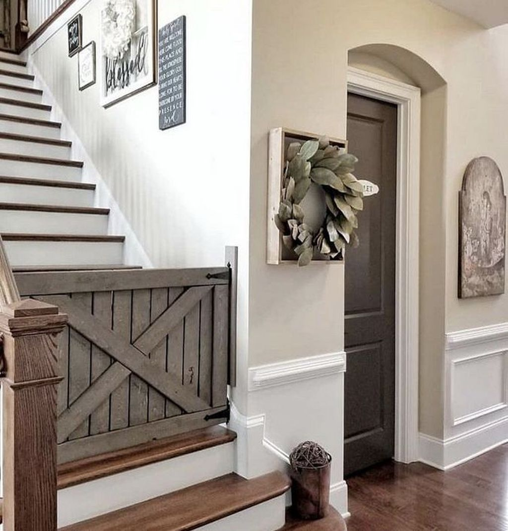 Stunning Farmhouse Living Room Decorating Ideas 25
