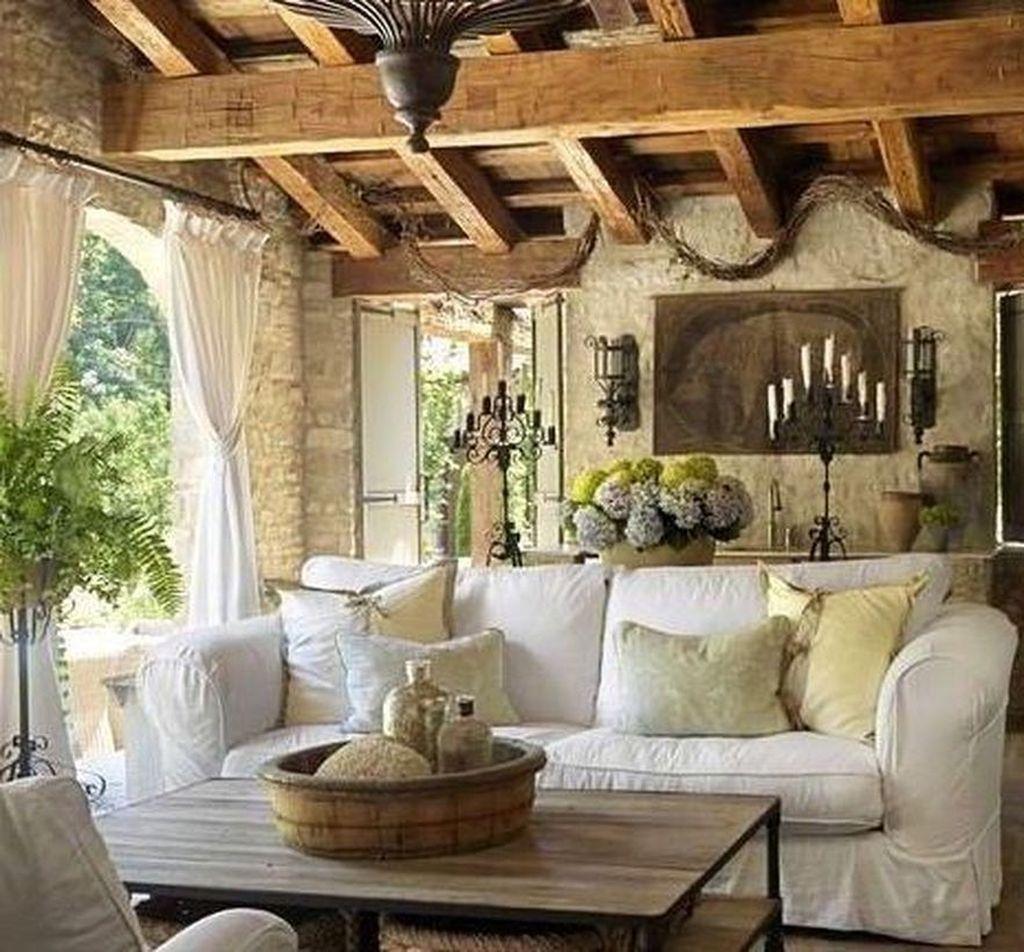 Stunning Italian Rustic Decor Ideas For Your Living Room 18