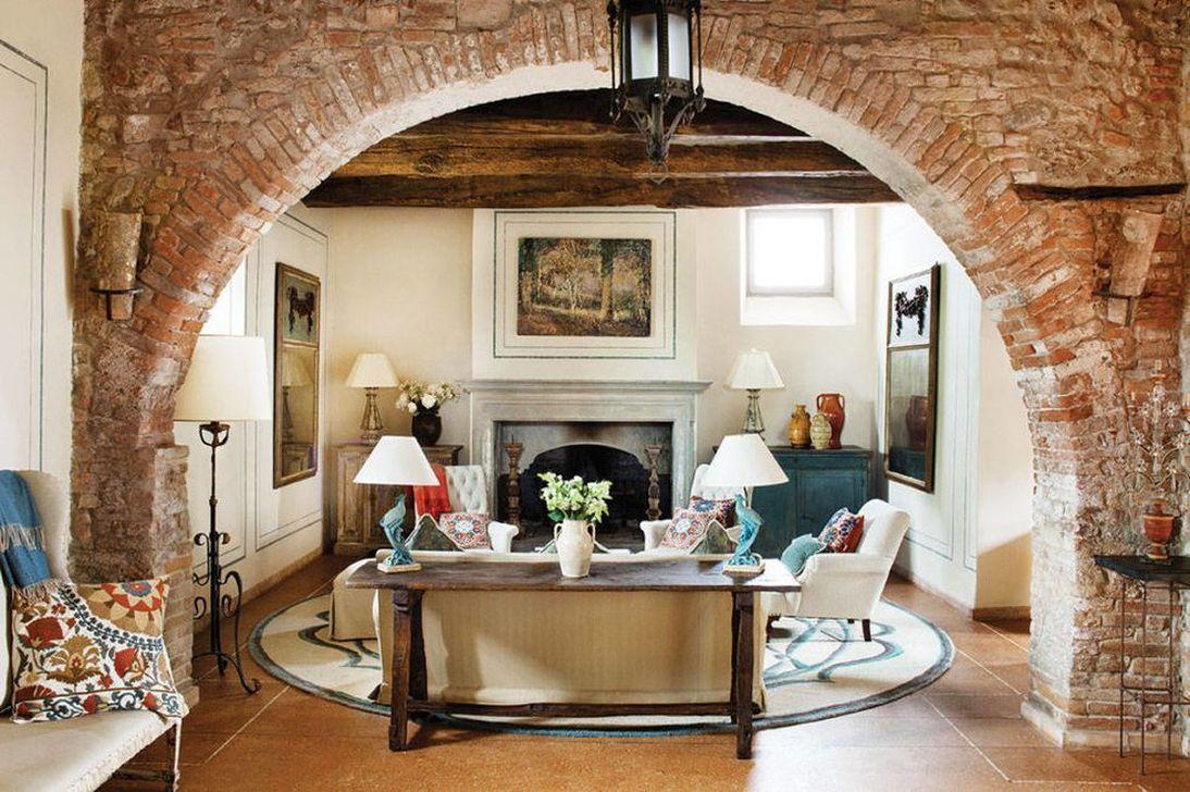 Stunning Italian Rustic Decor Ideas For Your Living Room 24