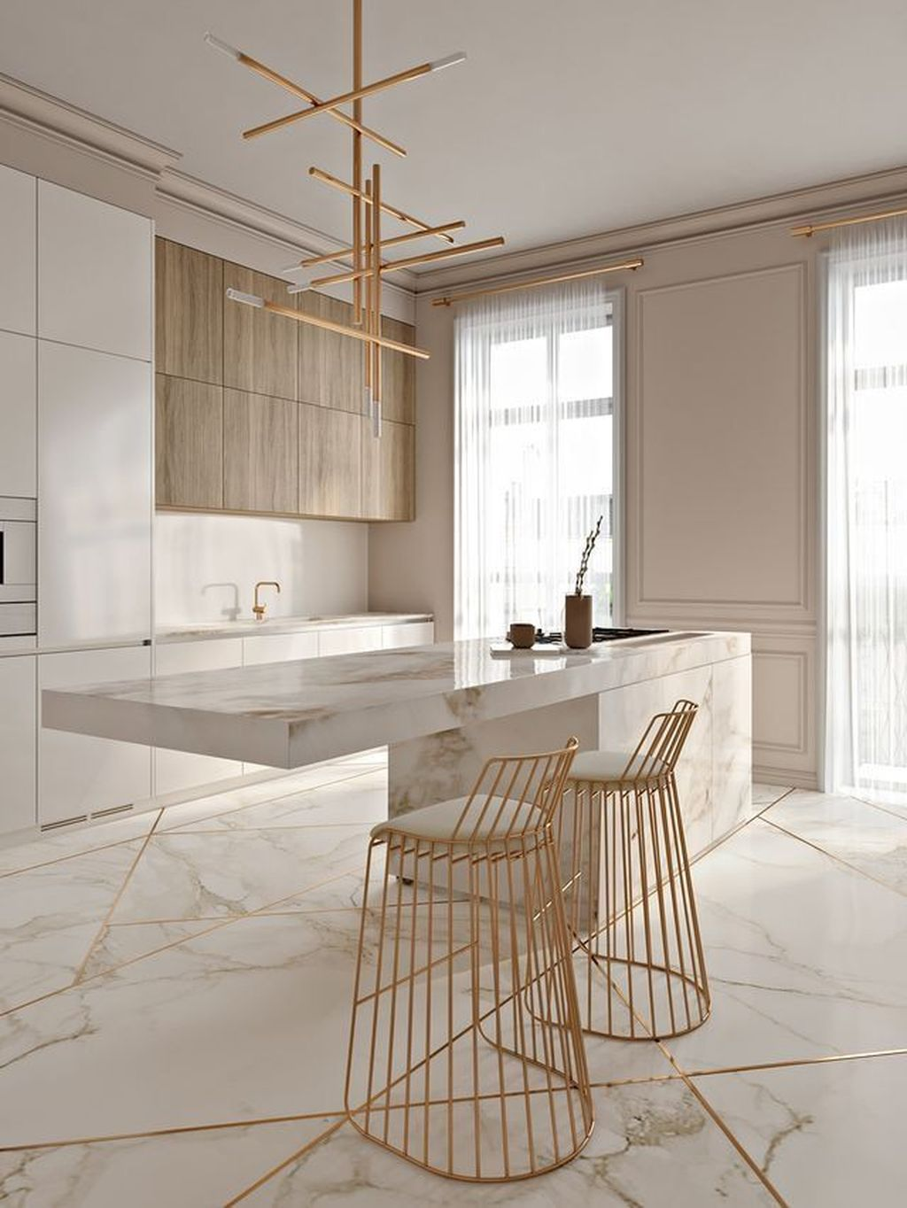 Stunning Marble Room Decor Ideas 16