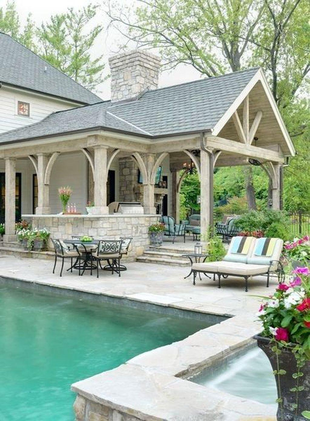 Stunning Outdoor Kitchen Design Ideas For Perfect Summer 09