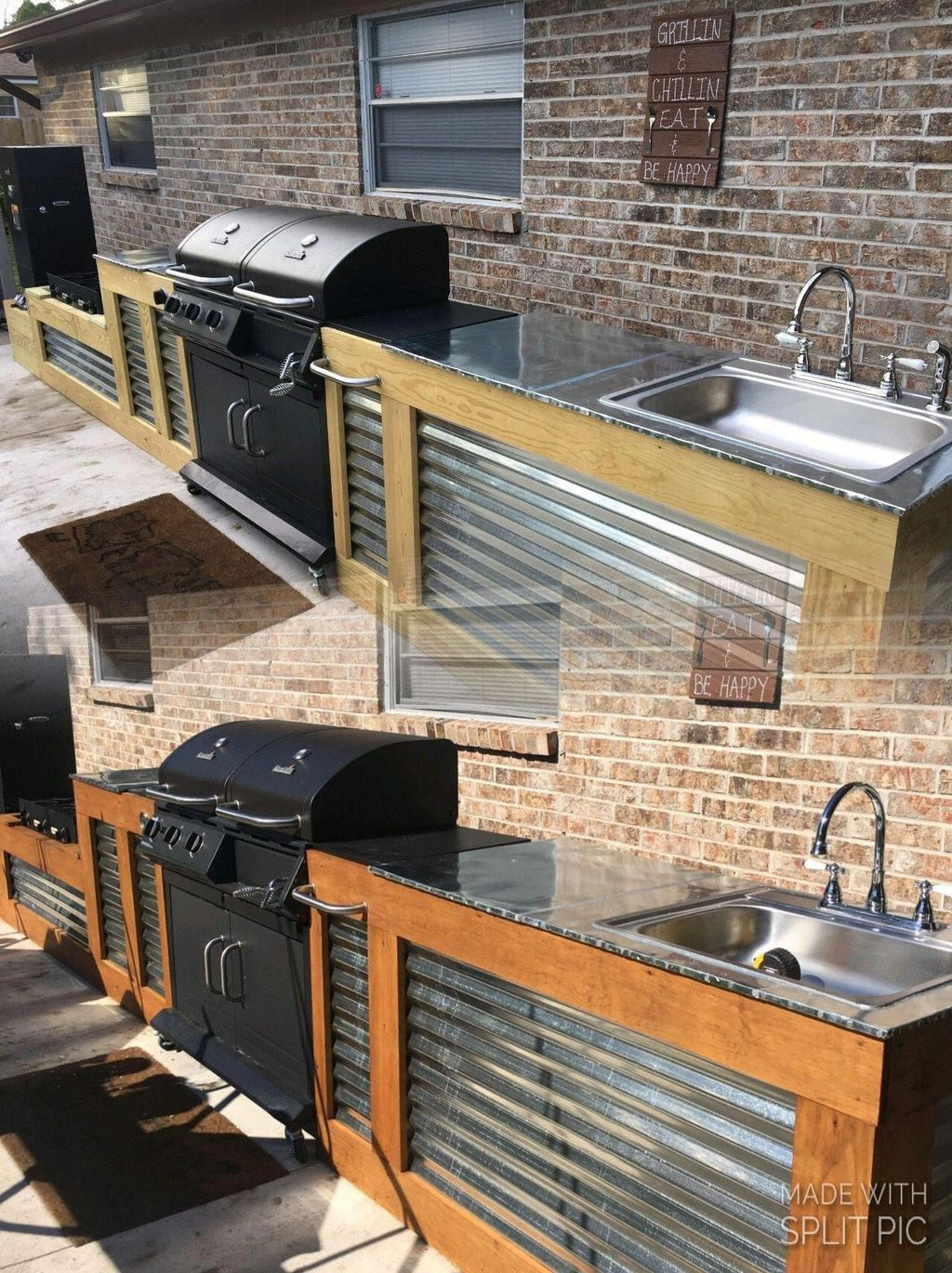 Stunning Outdoor Kitchen Design Ideas For Perfect Summer 14