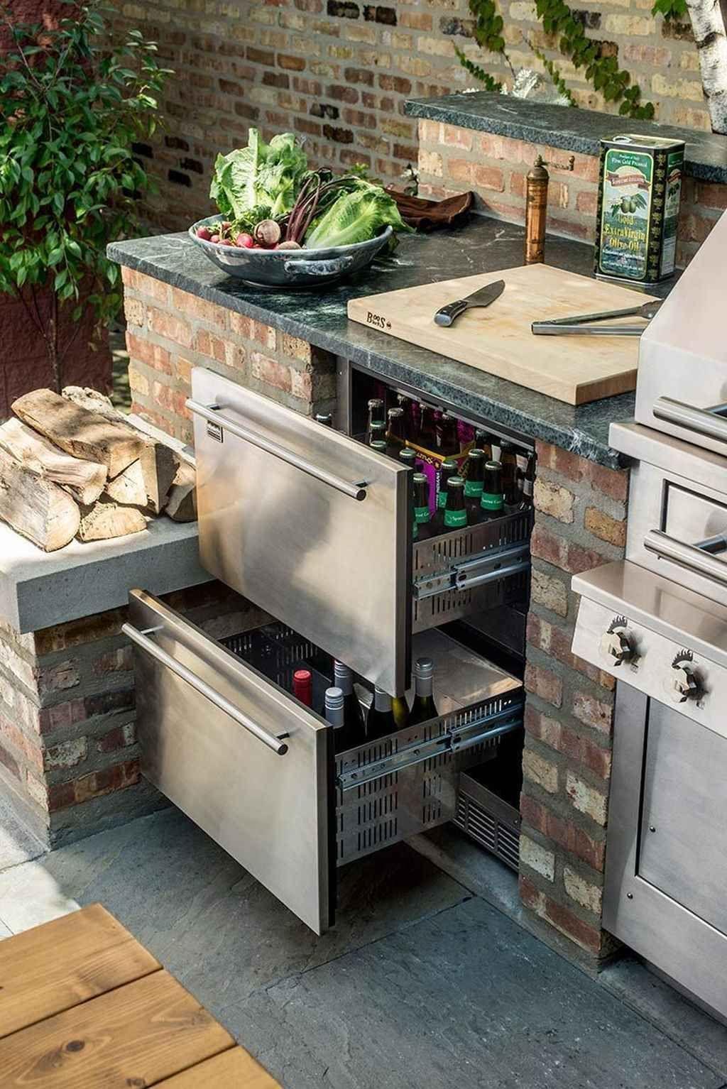Stunning Outdoor Kitchen Design Ideas For Perfect Summer 18