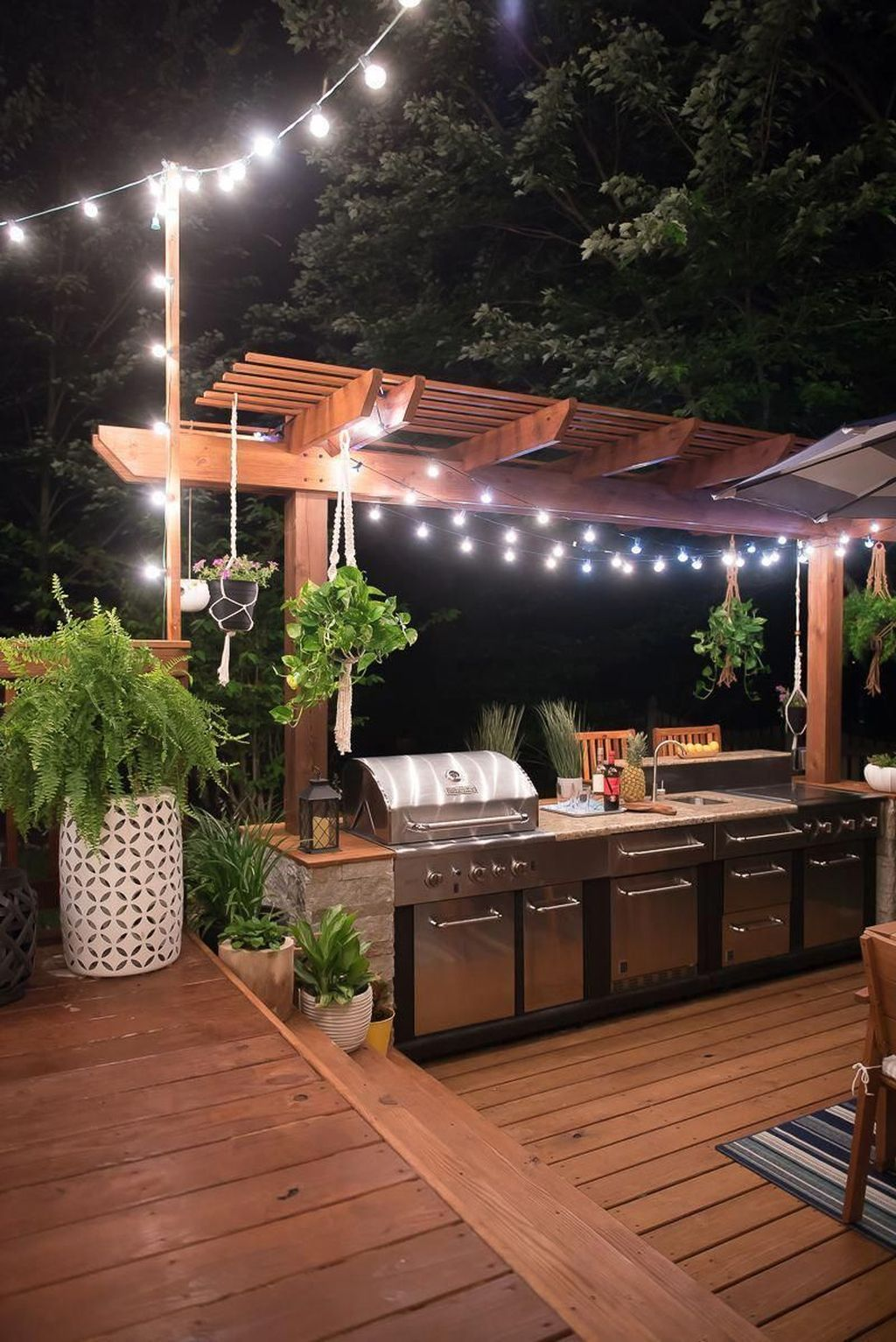 Stunning Outdoor Kitchen Design Ideas For Perfect Summer 22