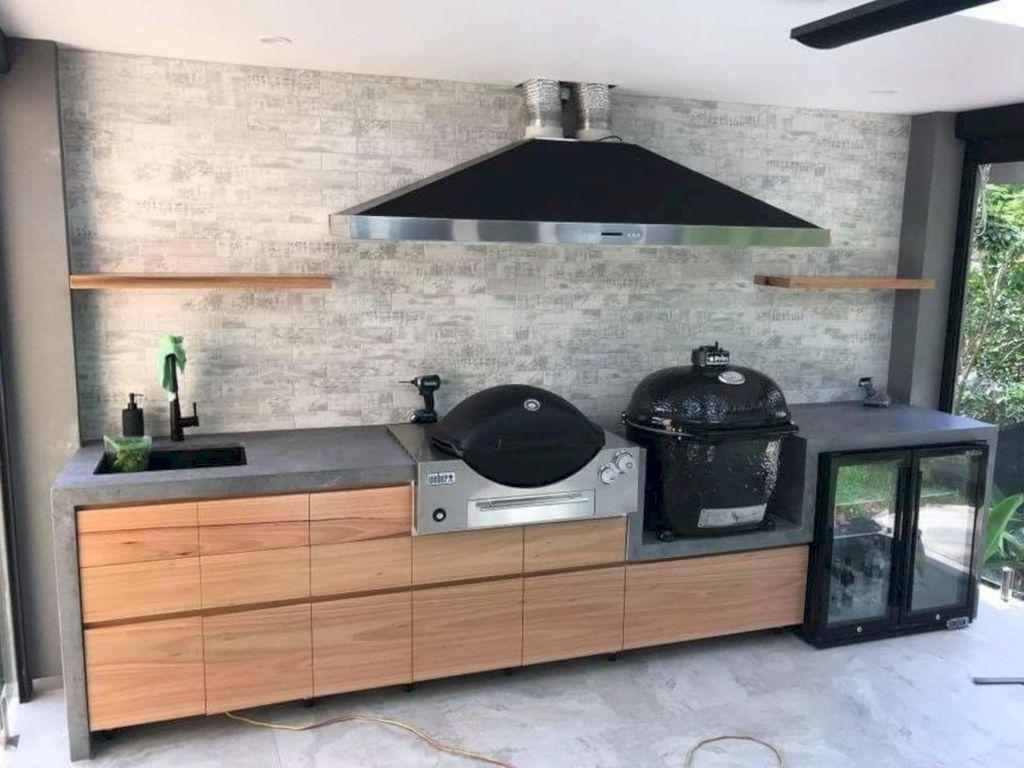 Stunning Outdoor Kitchen Design Ideas For Perfect Summer 30