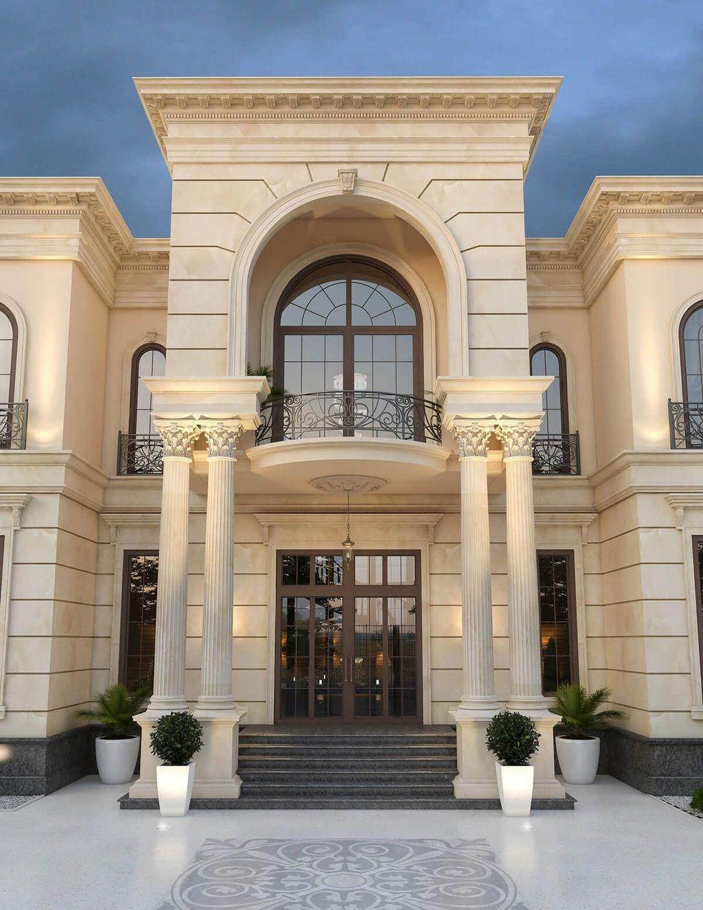The Best Classic Exterior Design Ideas Luxury Look 24
