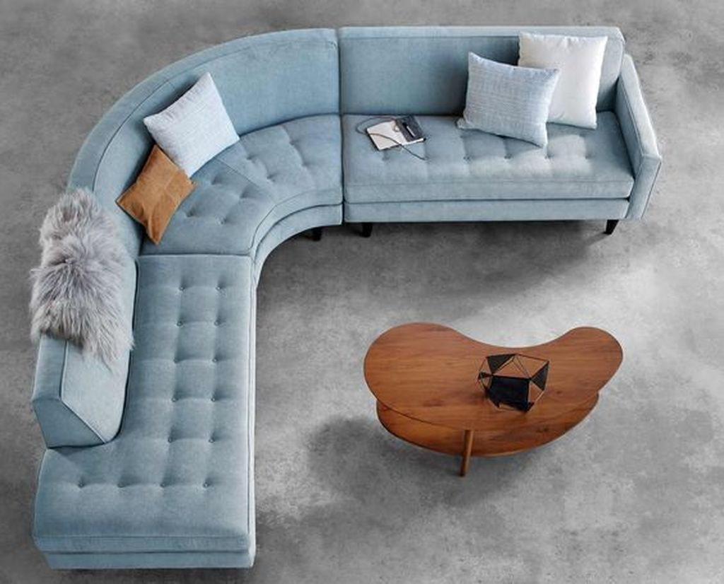 The Best Curved Sofa For Living Room Layout Ideas 05