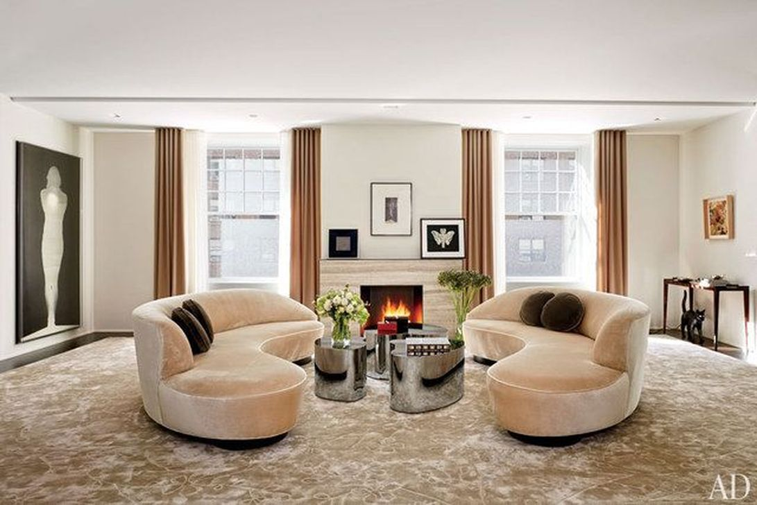 The Best Curved Sofa For Living Room Layout Ideas 08