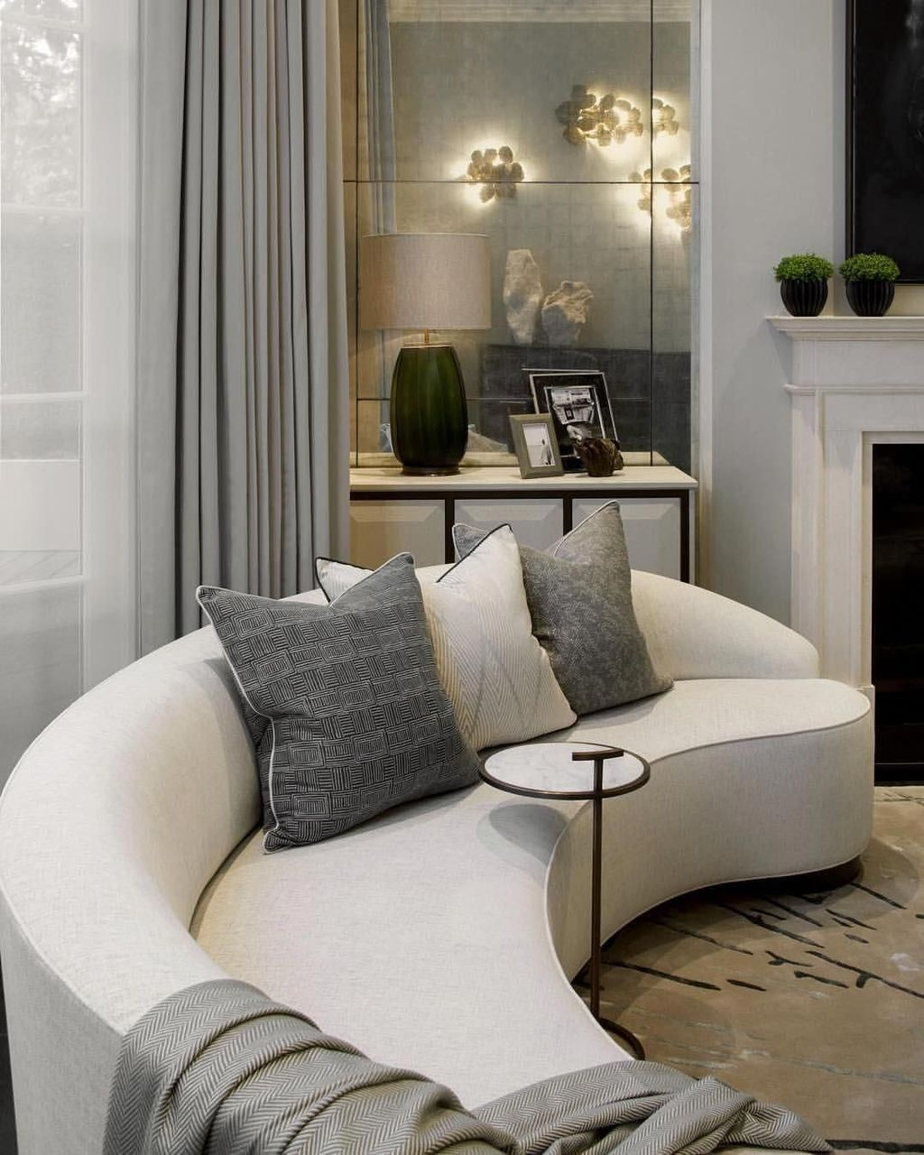 The Best Curved Sofa For Living Room Layout Ideas 14
