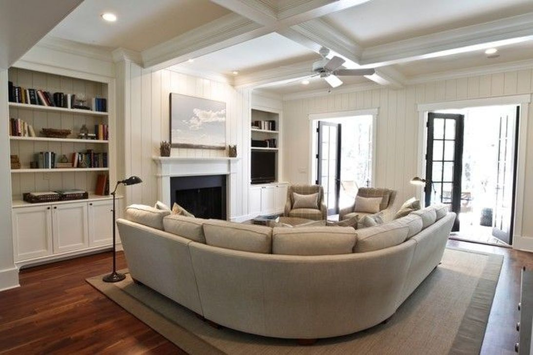 The Best Curved Sofa For Living Room Layout Ideas 31