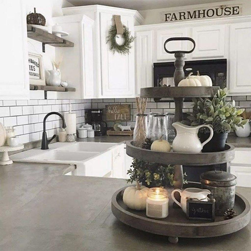 The Best Farmhouse Kitchen Decor Ideas 20